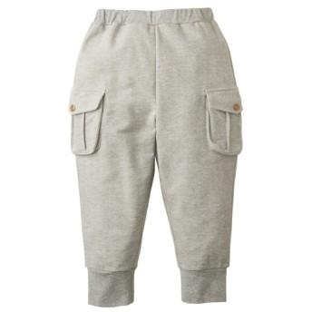 ミニ裏毛カーゴ6分丈パンツ(男の子。女の子 子供服。ジュニア服) パンツ