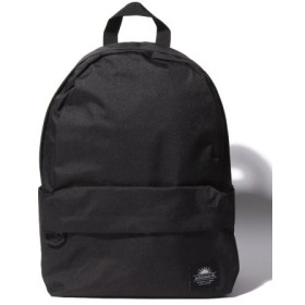 (Laplace box/ラプラスボックス)Dカン付ポリキャンバスデイパック/レディース ブラック