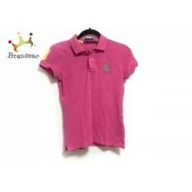 ラルフローレンゴルフ 半袖ポロシャツ サイズXS レディース ビッグポニー ピンク   スペシャル特価 20190811