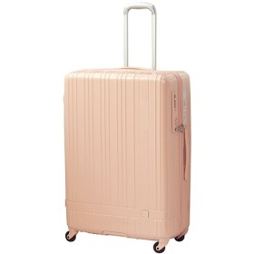 hands+ スーツケース newライトシリーズ ジップ 90L ピンク