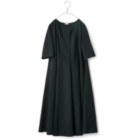 パラソルワンピース黒 サニークラウズ フェリシモ FELISSIMO【送料無料】