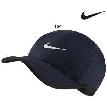 ナイキ NIKE フェザーライト キャップ 679421 帽子 スポーツキャップ ジョギング ランニング 観戦 オブシディアン
