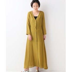 (JOURNAL STANDARD/ジャーナルスタンダード)【OR ~MIXED BUSINESS~】BUTTON UP DRESS RAYON:ワンピース/レディース カーキ 送料無料