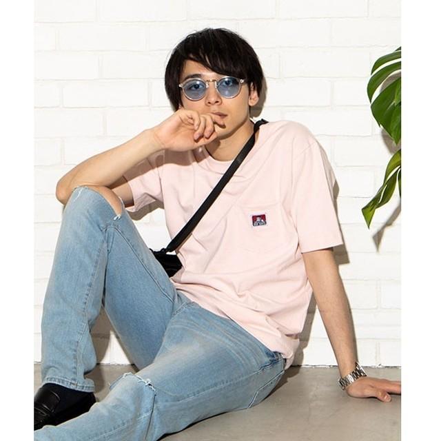 [マルイ]【セール】BEN DAVIS別注ポケットTシャツ/ウィゴー(メンズ)(WEGO)