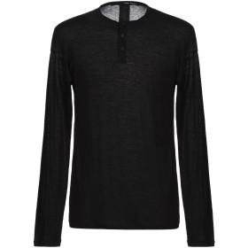 《期間限定セール開催中!》ISABEL BENENATO メンズ T シャツ ブラック L コットン 70% / ウール 30%