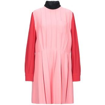 《期間限定 セール開催中》MIU MIU レディース ミニワンピース&ドレス ピンク 40 シルク 72% / ウール 28%