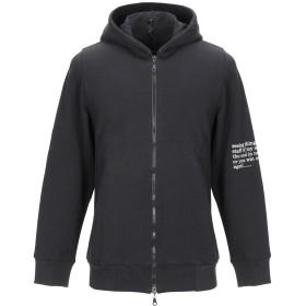 《期間限定 セール開催中》NAGU メンズ スウェットシャツ ブラック S コットン 100%