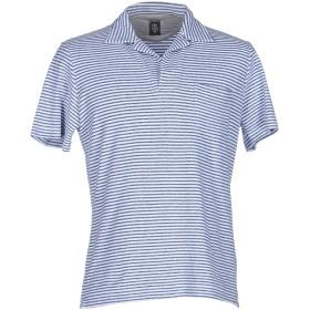 《期間限定セール開催中!》ELEVENTY メンズ ポロシャツ ブルーグレー M コットン 88% / ナイロン 12%