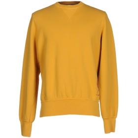 《セール開催中》LEVIATHAN メンズ スウェットシャツ オークル L コットン 100%