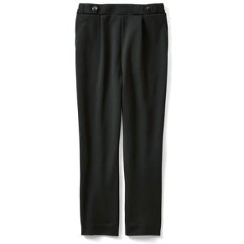 接触冷感が快適な軽やかバレエフィット(R)パンツ〈ブラック〉 IEDIT[イディット] フェリシモ FELISSIMO【送料無料】