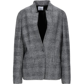 《期間限定 セール開催中》AGNONA レディース テーラードジャケット グレー 46 毛(アルパカ) 43% / ウール 42% / ナイロン 13% / カシミヤ 2%