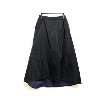 【中古】 オリバーサット ORIVAR SAT ロングスカート サイズ34 S レディース 黒