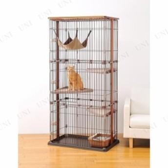 【取寄品】 ウッドワンサークルキャット 3段タイプ 猫用品 ペット用品 ペットグッズ ネコ ねこ ケージ