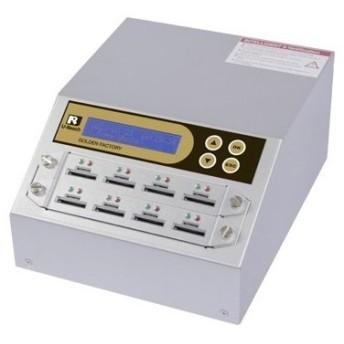 【在庫目安:お取り寄せ】U-Reach Japan 8ポート SDデュプリケータ Intelligent 9 Golden SD908G 1:7のコピーおよび最大8枚のSDカードの…