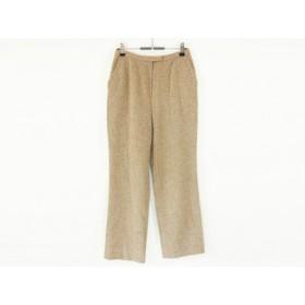 【中古】 レリアン Leilian パンツ サイズ11 M レディース 美品 ベージュ
