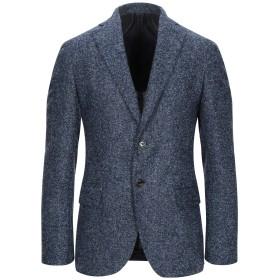 《期間限定セール開催中!》ELEVENTY メンズ テーラードジャケット ブルー 48 毛(アルパカ) 41% / ウール 39% / ナイロン 20%
