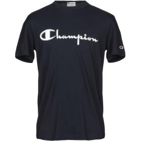 《セール開催中》CHAMPION x PAOLO PECORA メンズ T シャツ ダークブルー XL コットン 100%