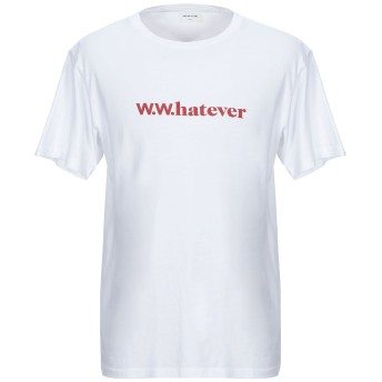 《セール開催中》WOOD WOOD メンズ T シャツ ホワイト S コットン 100%