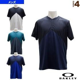 オークリー テニス・バドミントンウェア(メンズ/ユニ)  ENHANCE SLANT HENLEY 9.0/ヘンリーシャツ/メンズ(457723)