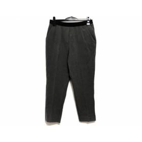【中古】 ヒロコビス HIROKO BIS パンツ サイズ15AB L レディース グレー 黒