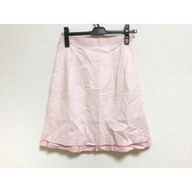【中古】 アプワイザーリッシェ Apuweiser-riche スカート サイズ2 M レディース 新品同様 ピンク