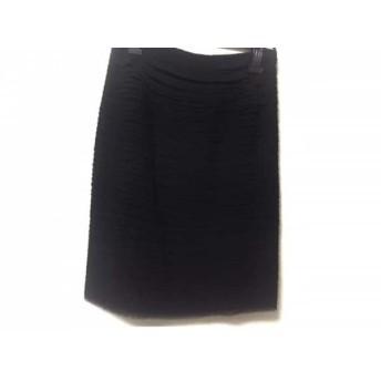【中古】 パオラ フラーニ PAOLA FRANI スカート サイズ44 L レディース 黒