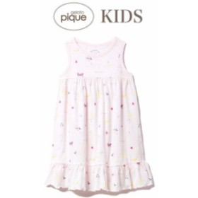 クーポン対象 gelato pique ジェラートピケ 通販 キッズ シロクマフルーツ kids ドレス pkco192412 ピケ  子供 部屋着 パジャマ