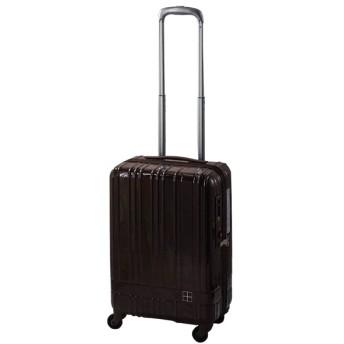 スーツケース ジップタイプ 36L hands+(ハンズプラス)newライト ブラウン 18H+TT001-BR [TSAロック搭載]