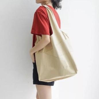 トートバッグ レディース 綿キャンバス 軽量 大容量 バッグ カジュアル シンプル 鞄 エコバッグ 男女兼用 通勤通学 お買い物