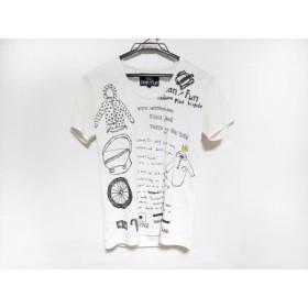 【中古】 ナリフリ narifuri 半袖Tシャツ サイズ1 S レディース 白 黒