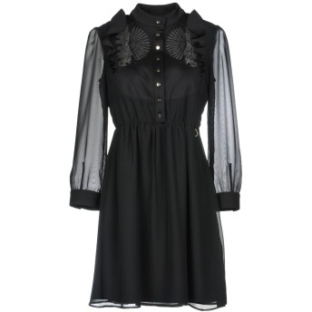 《9/20まで! 限定セール開催中》MANGANO レディース ミニワンピース&ドレス ブラック 40 ポリエステル 100% / ポリウレタン