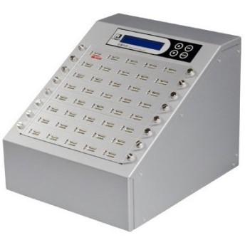 【在庫目安:お取り寄せ】U-Reach Japan 40ポート USBデュプリケータ Intelligent 9 Silver UB940S 1:39のコピーおよび最大39個のUS…