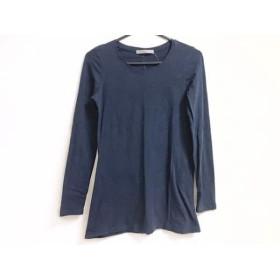 【中古】 セオリーリュクス theory luxe 長袖Tシャツ サイズ38 M レディース ネイビー