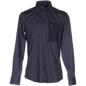 《9/20まで! 限定セール開催中》ANTONY MORATO メンズ シャツ ブルー 44 コットン 100% / ポリエステル / ウール