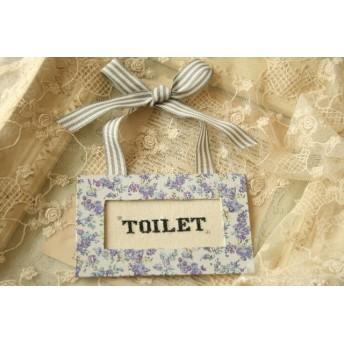 リバティ トイレのドアサイン ムーンモス