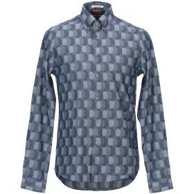 《セール開催中》BEN SHERMAN メンズ シャツ ブルー S コットン 100%