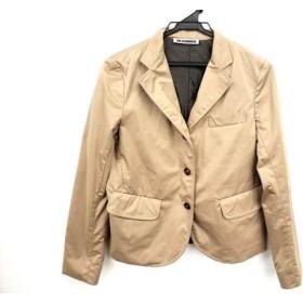 【中古】 ジルサンダー JILSANDER ジャケット サイズ36 S レディース 美品 ライトブラウン