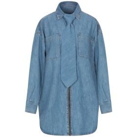 《期間限定セール開催中!》DIESEL レディース デニムシャツ ブルー XS コットン 100%