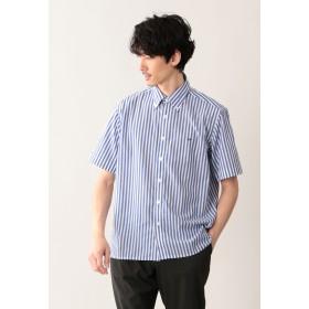 MACKINTOSH PHILOSOPHY COOL MAXロンスト MPスクエアシルエットボタンダウンシャツ シャツ・ブラウス,ブルー