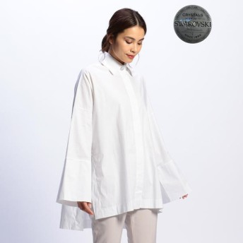 [マルイ]【セール】ビックカフスコットンシャツ/ナラカミーチェ(NARACAMICIE)