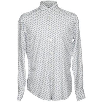 《期間限定セール開催中!》RODA メンズ シャツ ホワイト 39 コットン 100%