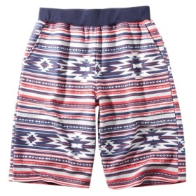 VOLCANIC(ボルカニック)総柄ハーフパンツ(男の子 子供服。ジュニア服) パンツ