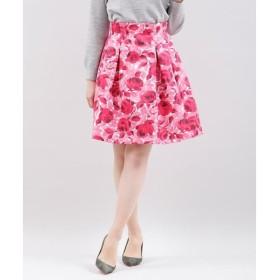 Maglie L / マーリエ (エルサイズ) 《大きいサイズ》ローズフレアスカート