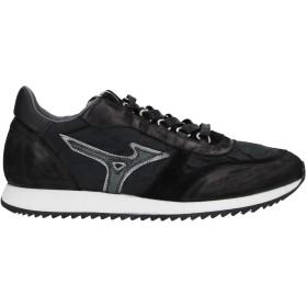 《9/20まで! 限定セール開催中》MIZUNO メンズ スニーカー&テニスシューズ(ローカット) ブラック 7 革 / 紡績繊維