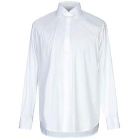 《期間限定 セール開催中》DEPARTMENT 5 メンズ シャツ ホワイト 40 コットン 97% / ポリウレタン 3%