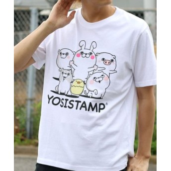 (MARUKAWA/マルカワ)【YOSISTAMP】ヨッシースタンプ 半袖Tシャツ/メンズ 柄1