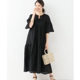 aa5b473104d09 GRACE CONTINENTAL(グレースコンチネンタル) フェザージャガードドレス ...