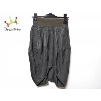 ツモリチサト スカート サイズ2 M レディース カーキ ウエストゴム/変形デザイン スペシャル特価 20190817