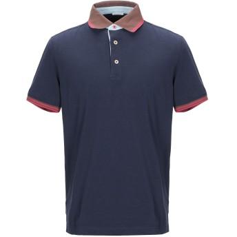 《期間限定セール開催中!》HERITAGE メンズ ポロシャツ ダークブルー 52 コットン 95% / ポリウレタン 5%