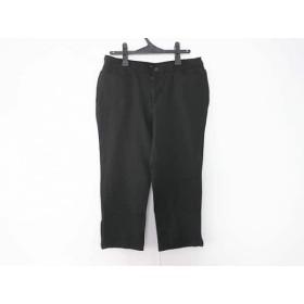 【中古】 ニジュウサンク 23区 パンツ サイズ46 XL レディース 黒